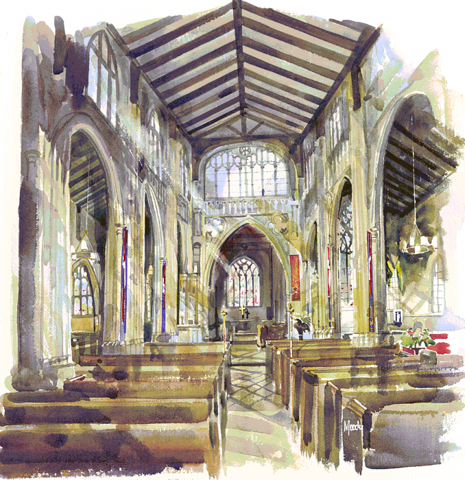 St. Mary\'s Interior, Chipping Norton