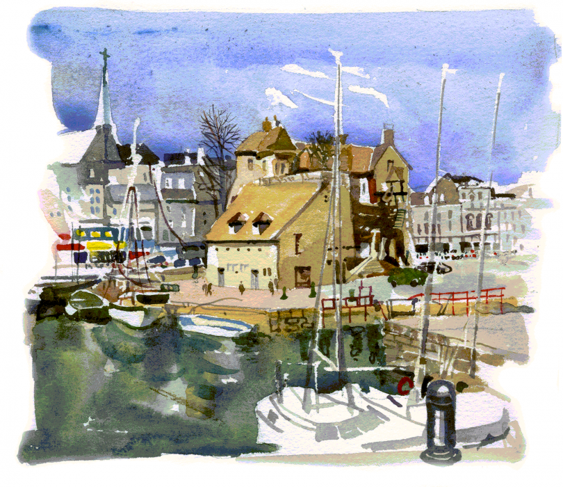 Honfleur Coastal Village