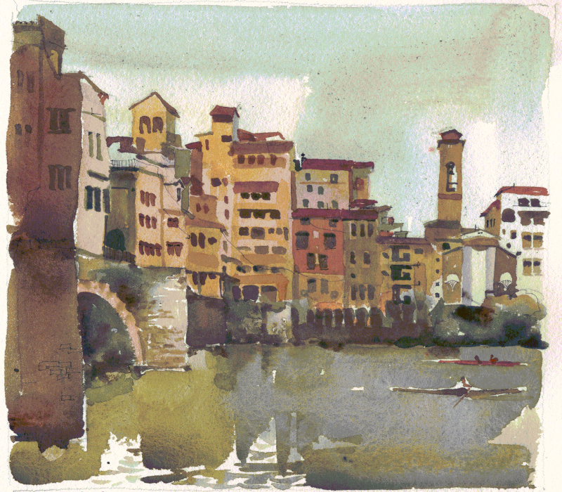 Ponte Vecchio - Over the Arno River