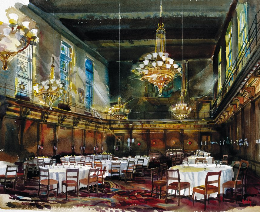 Merchant Taylors Interior