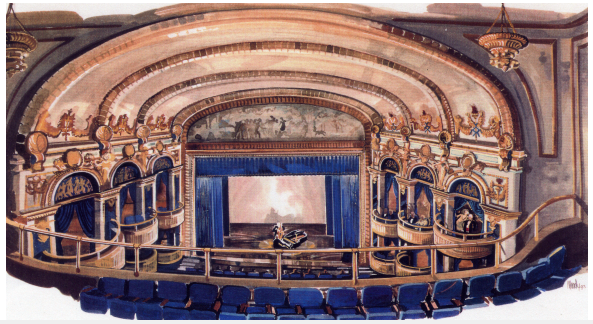 Lyric Theater Rendering