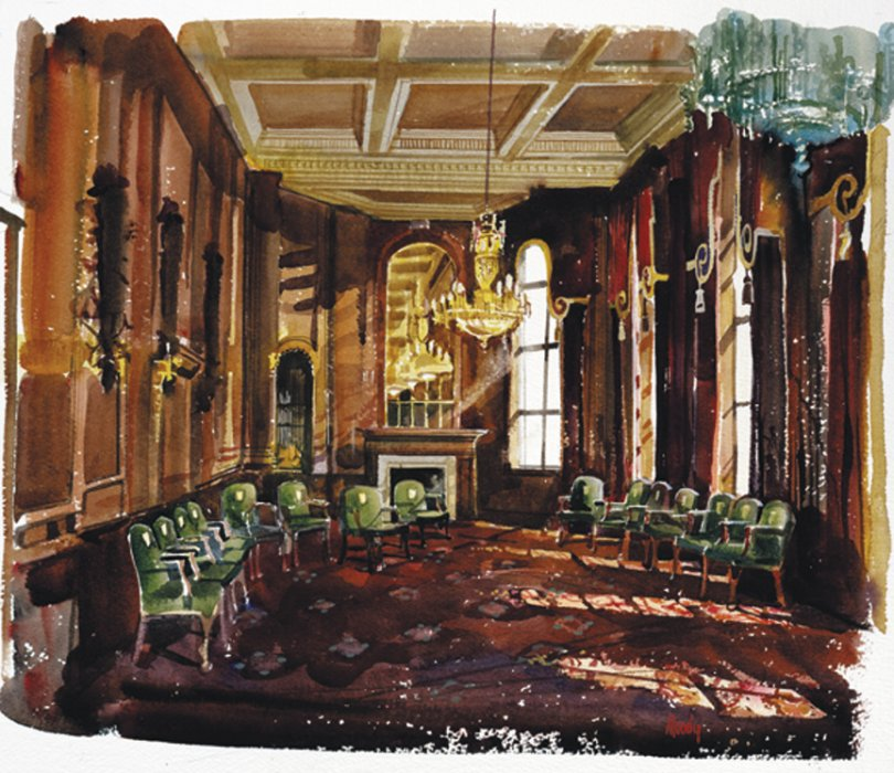 The Mercers Interior